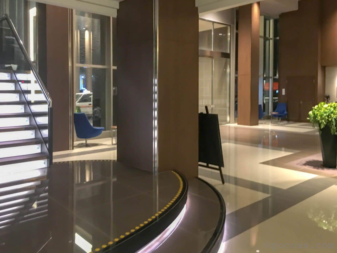 ホテルパコ函館ロビー