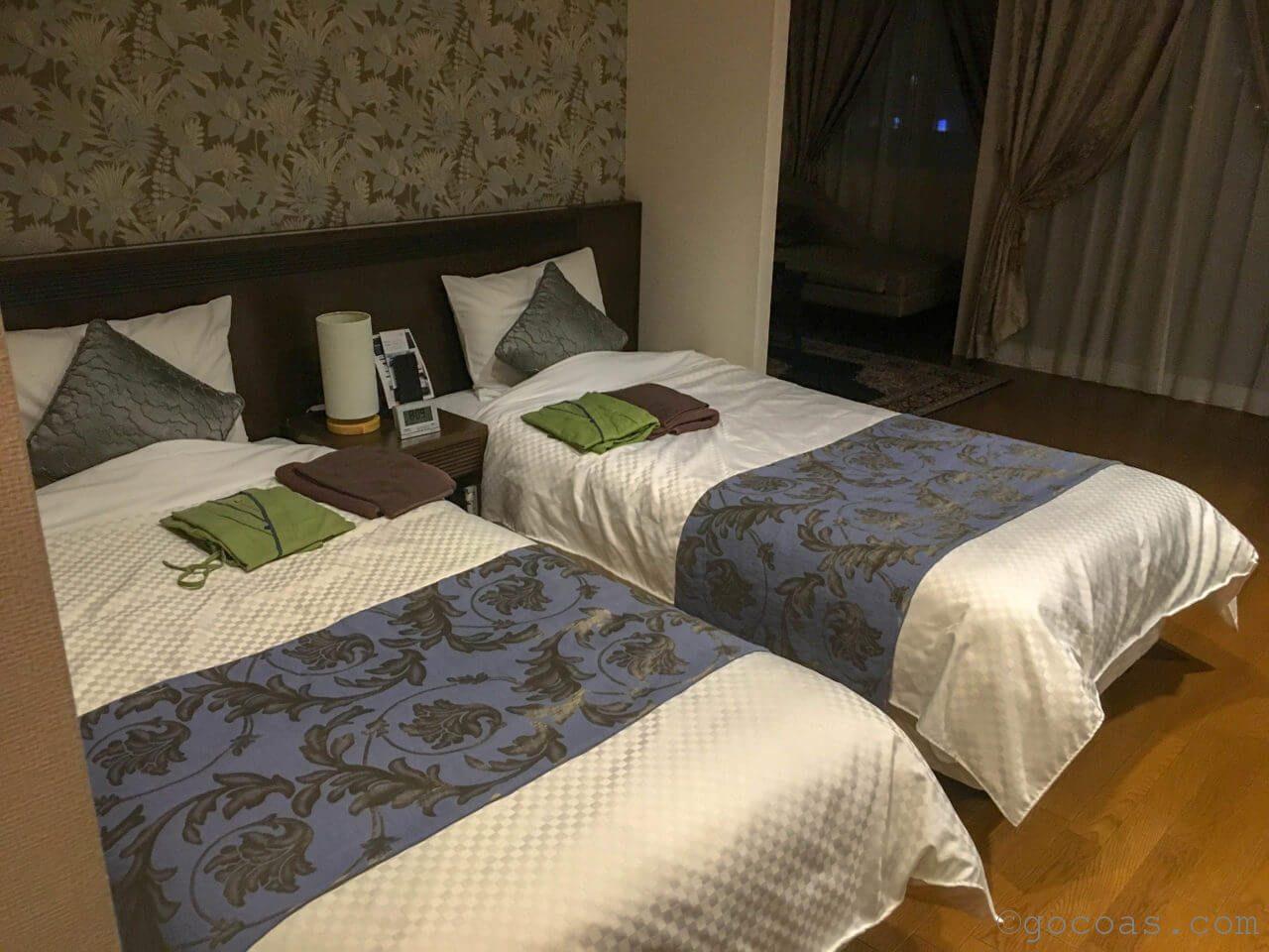 ホテルパコ函館室内