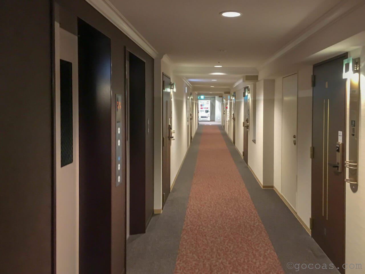 ホテルパコ函館廊下