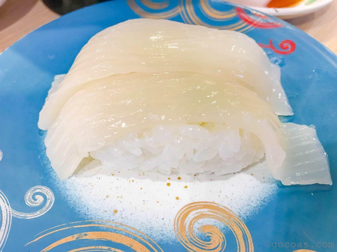 回転寿司トリトンのイカ