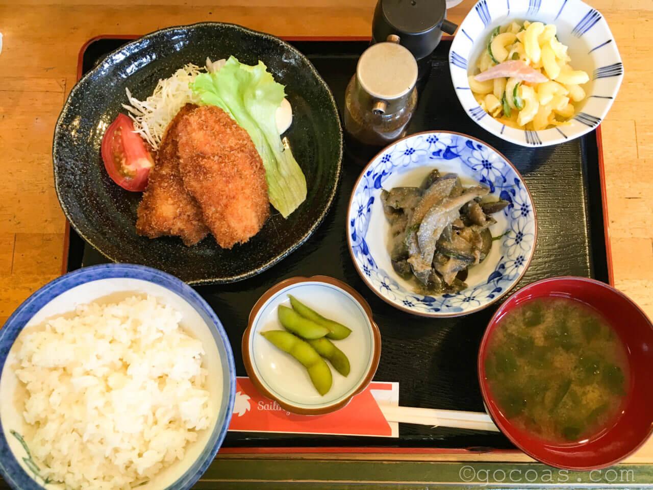 セイリング日替わり定食650円