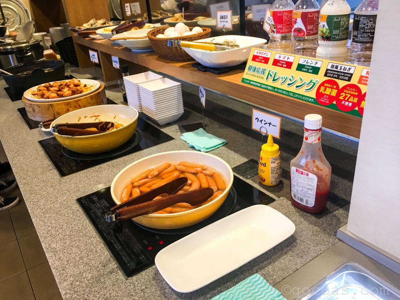 スーパーホテル山形駅西口朝食