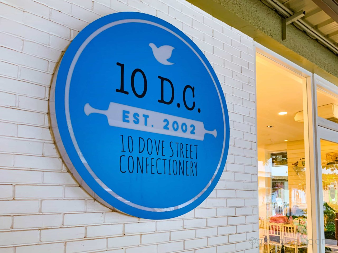 10 Dove Street Confectionery(10 D.C.)ロゴ