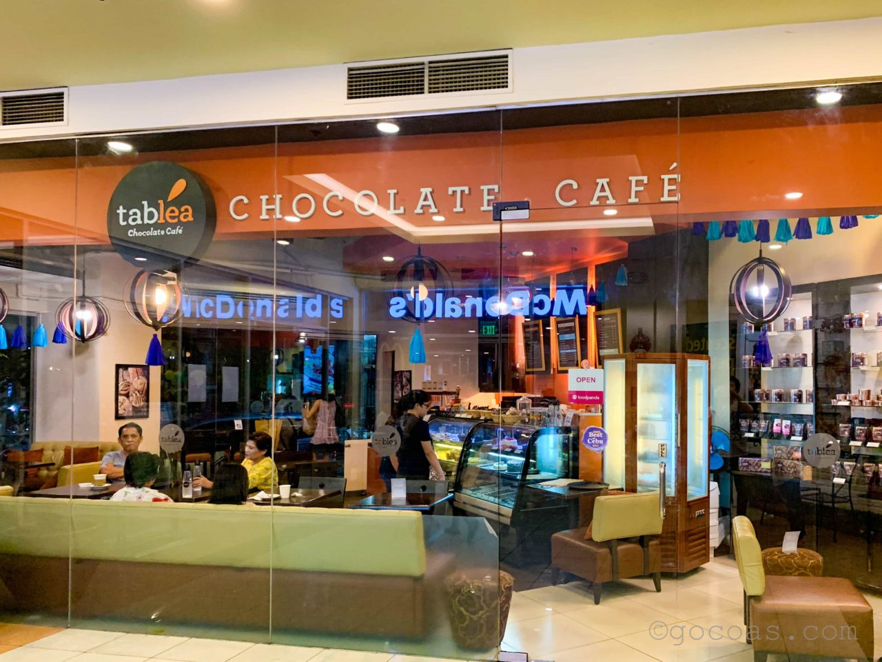 CHOCOLATE CAFE tablea 外観
