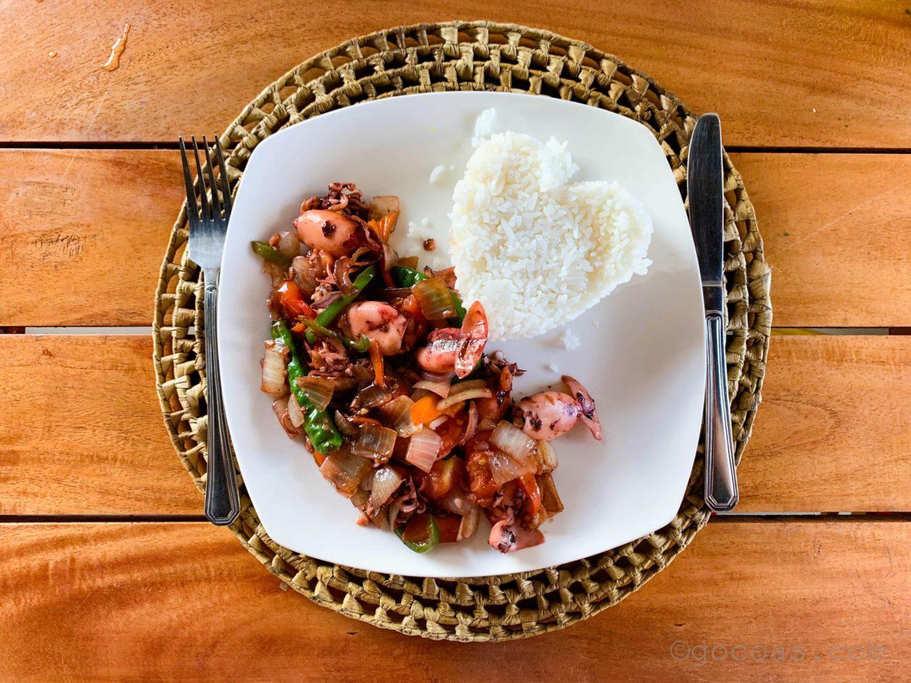 Le BISTROT RESTAURANT食事