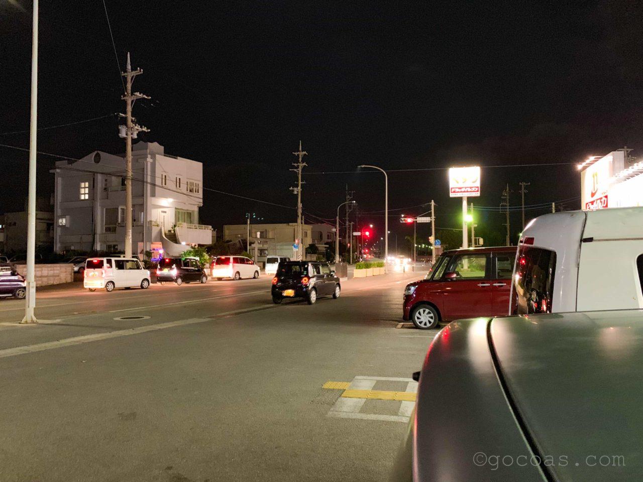 石垣島の交通量