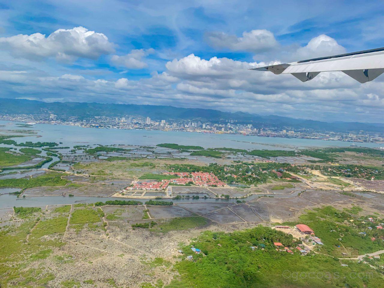 マクタンセブ国際空港に到着
