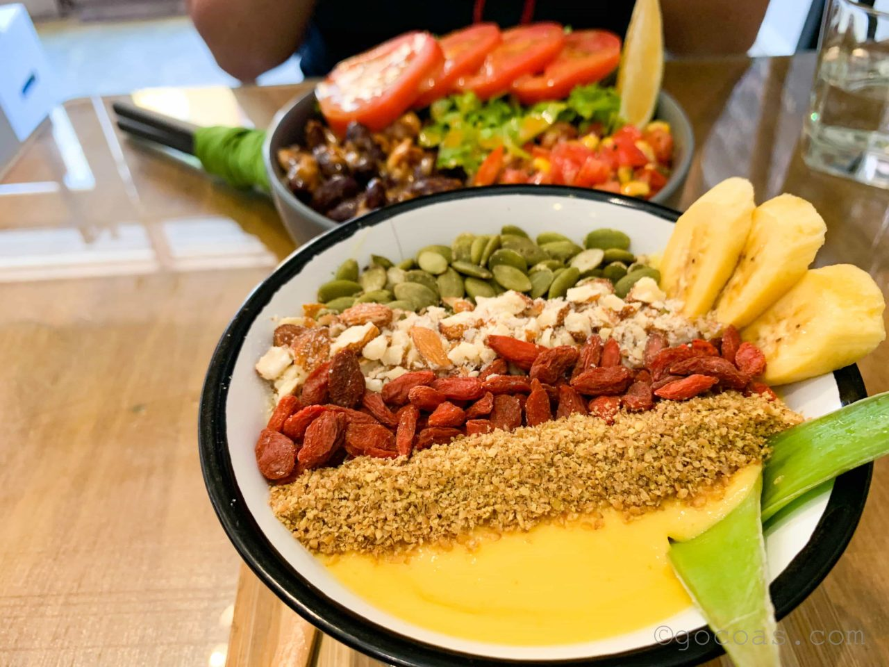 THE VEGAN CAFE食事