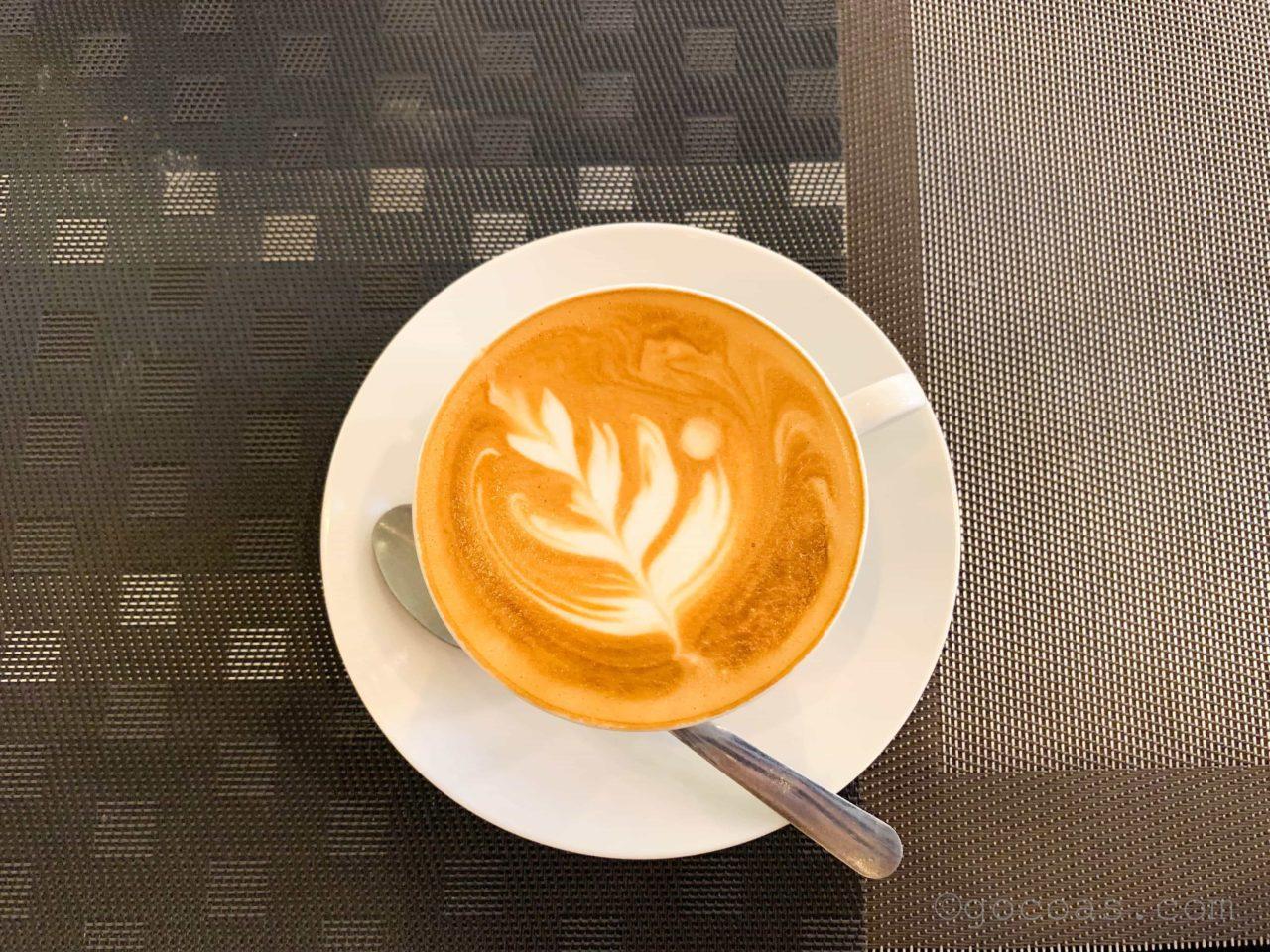 ニドカフェのラテ