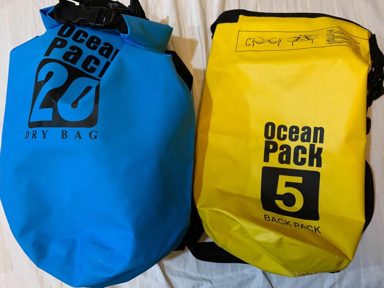 oceanpack5と20