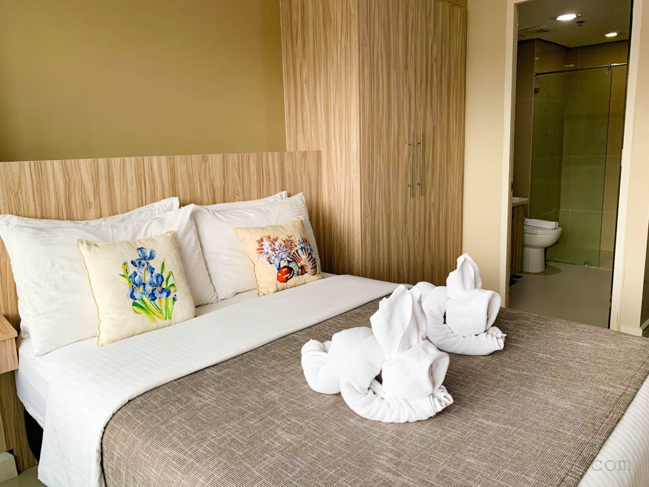 Alieiaホテル室内