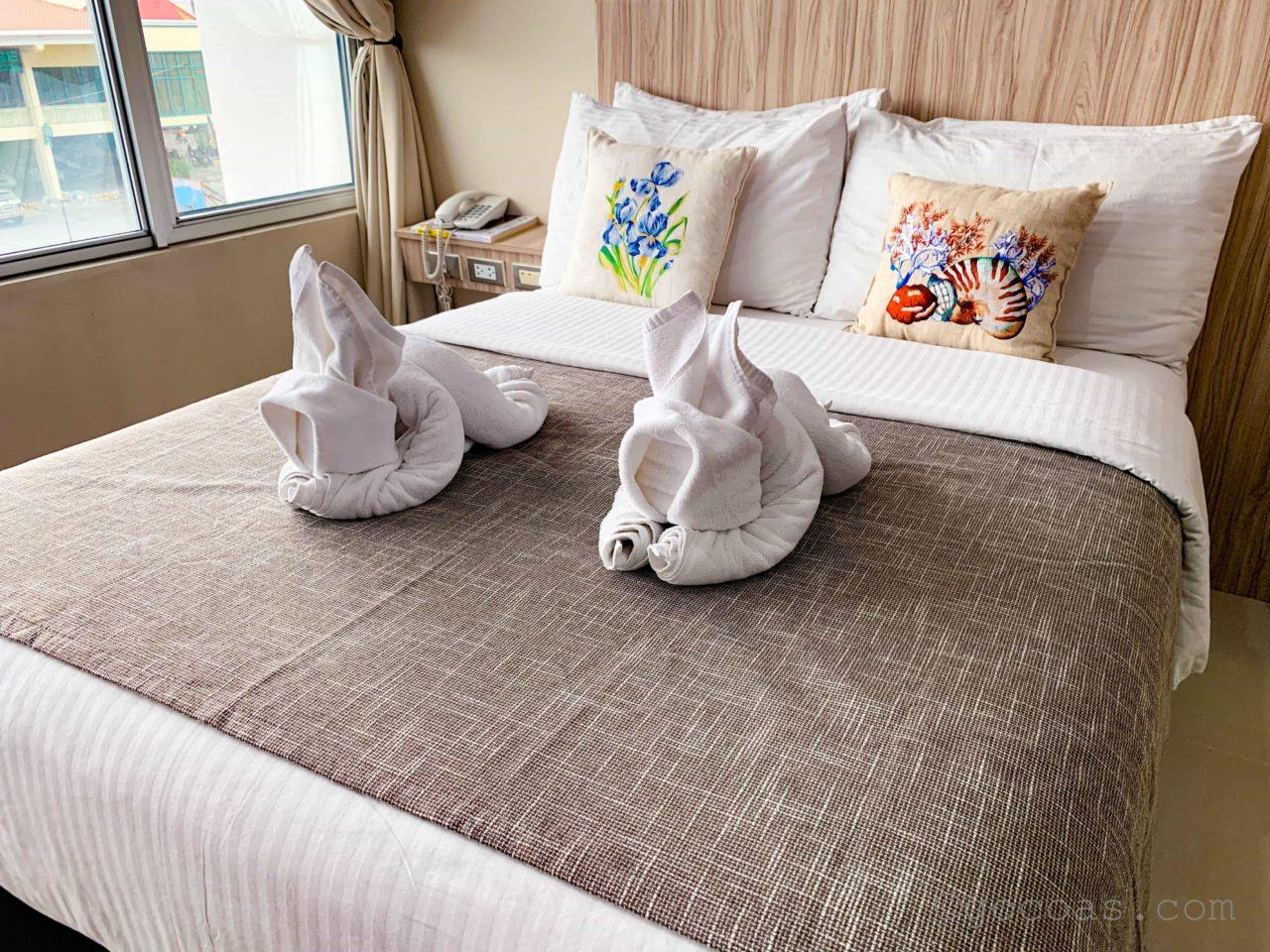 Alieiaホテルベッド