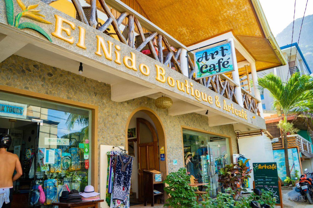 エルニドのArt Cafe