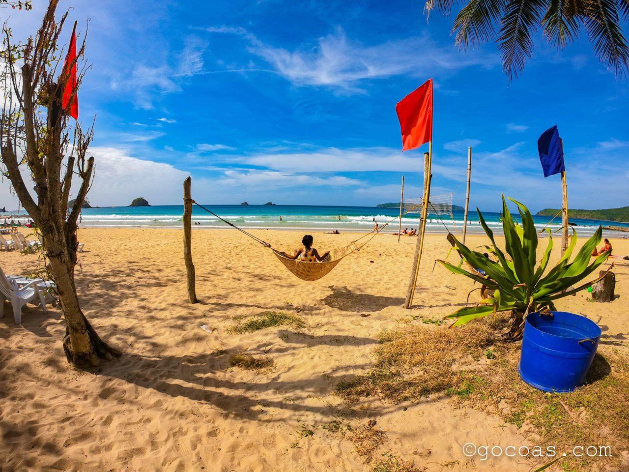 エルニドのビーチ