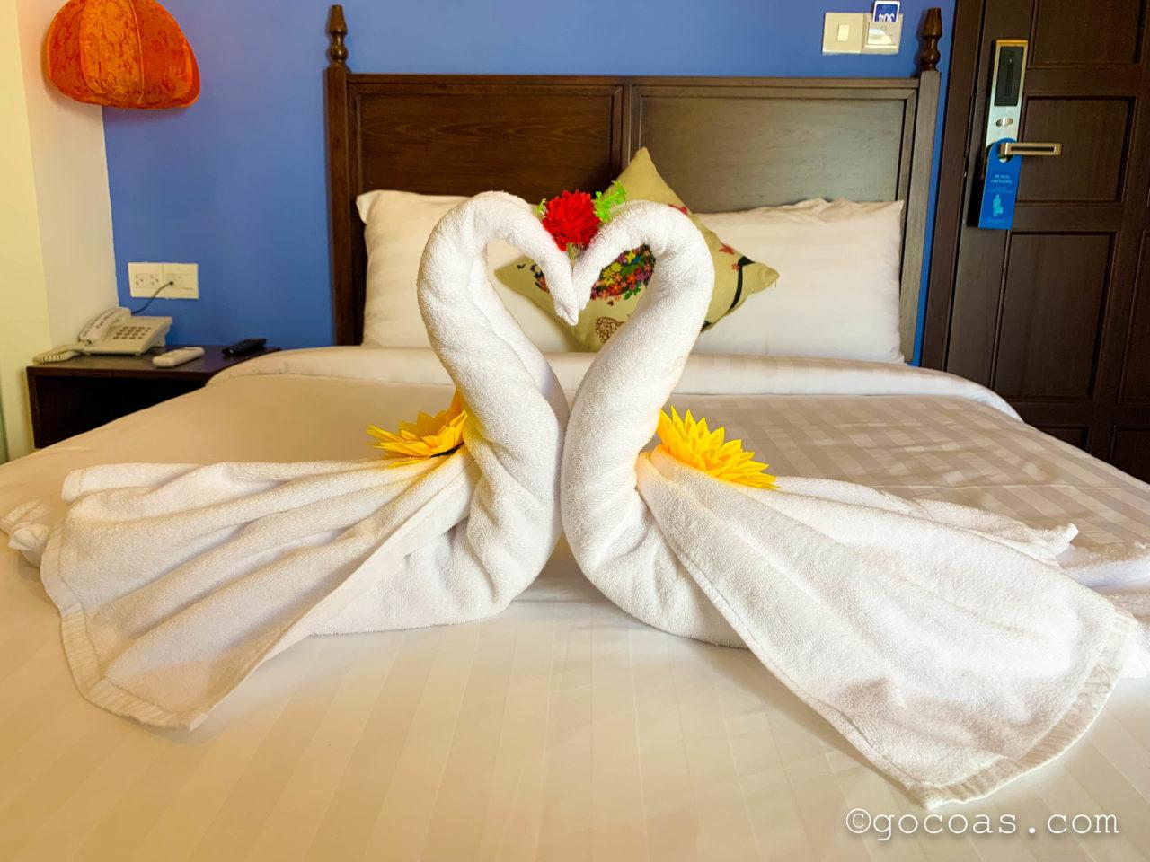ソントラン ホテル ホイアン (Son Trang Hotel Hoi An)タオル