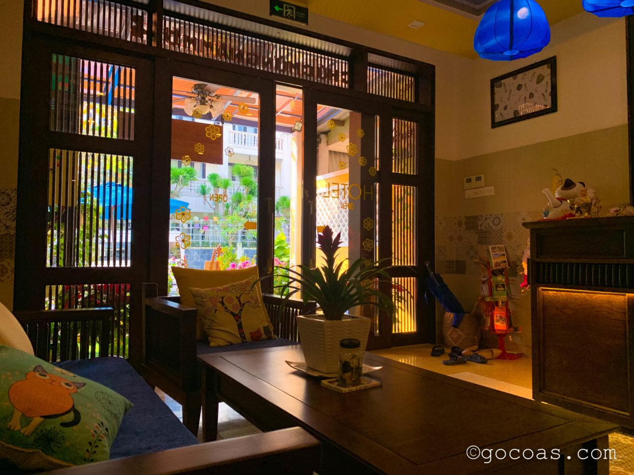 ソントラン ホテル ホイアン (Son Trang Hotel Hoi An)玄関