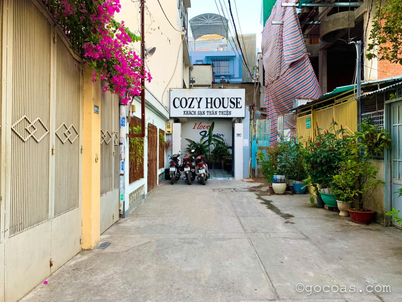 コージー ハウス 160 (Cozy House 160)入り口