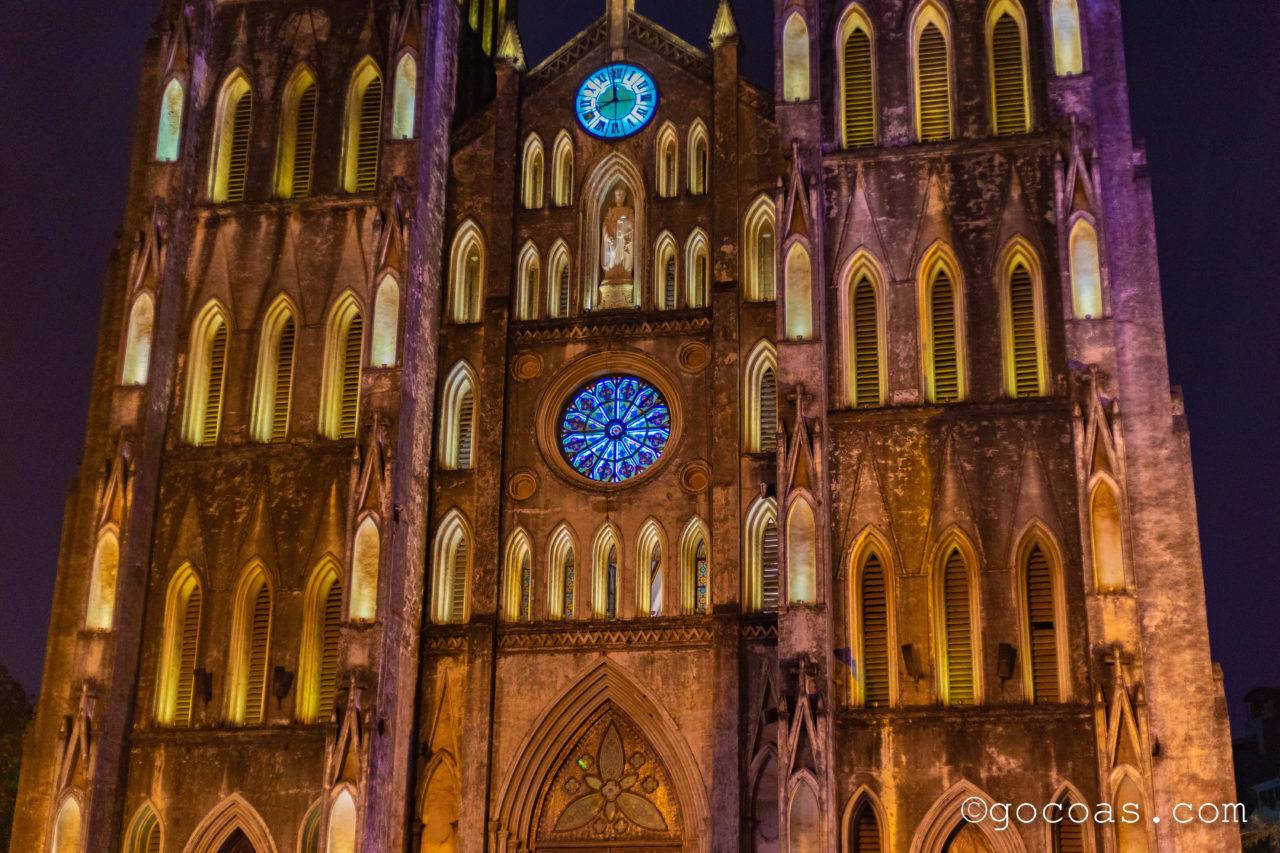 聖ヨセフ大聖堂夜