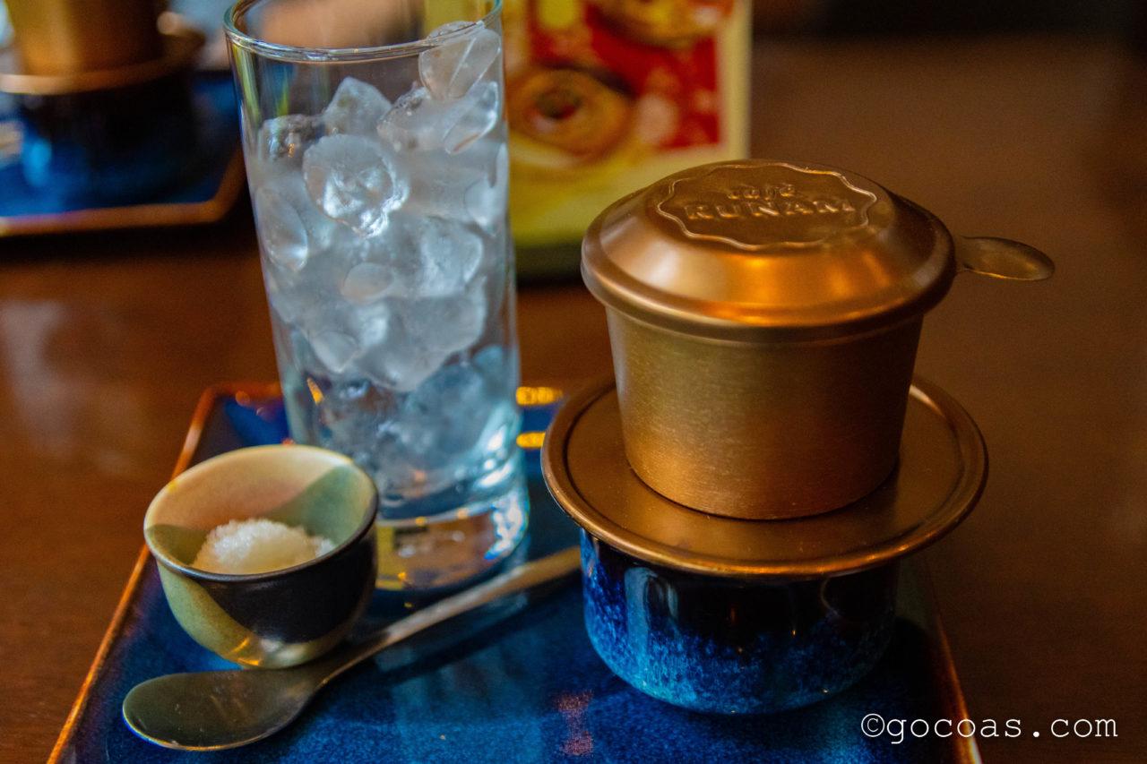 RUNAM BISTROコーヒー