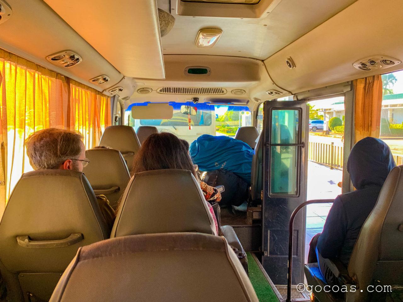 フバイ国際空港から市内へのバス