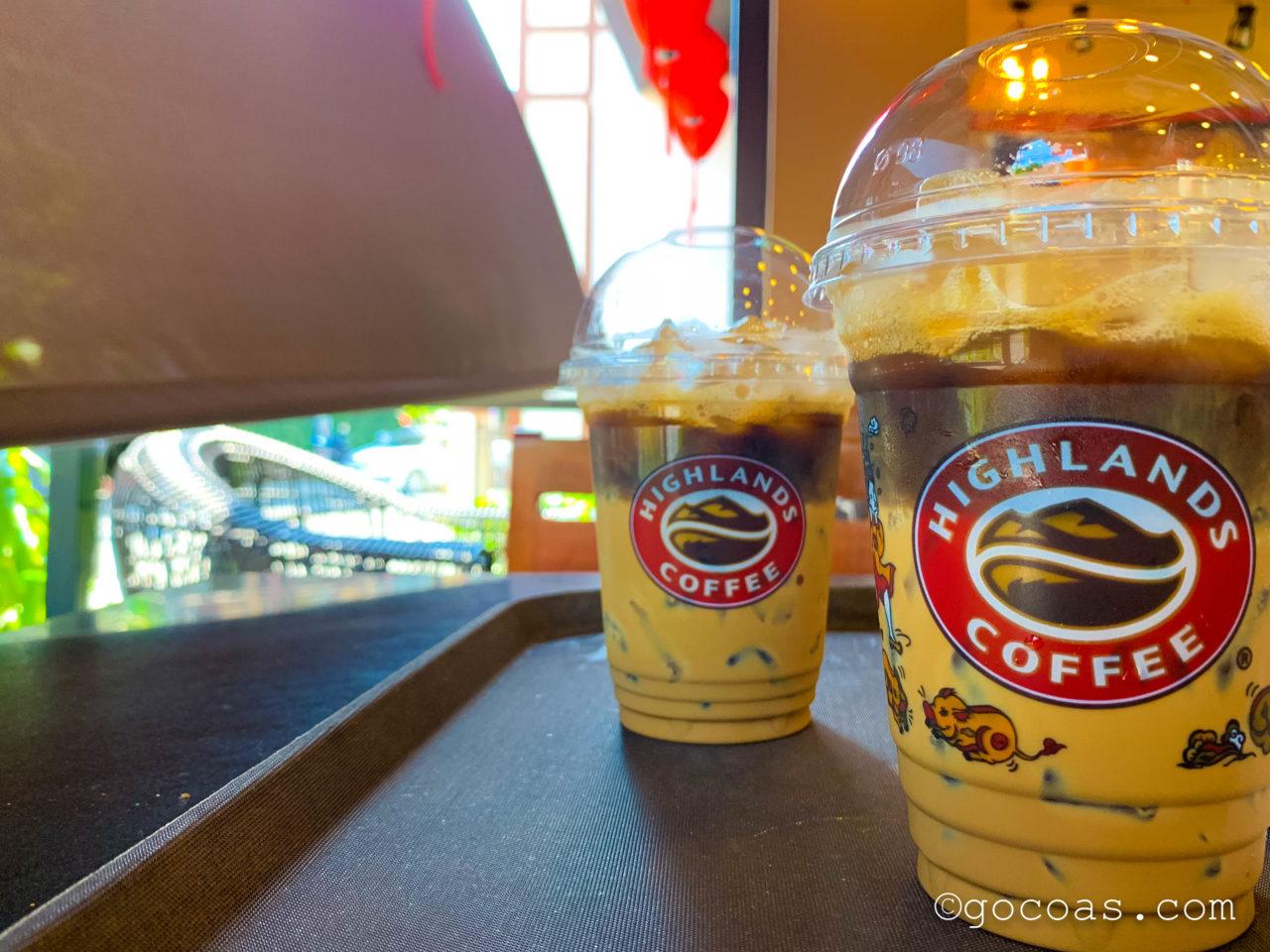 HIGHLANDS COFFEEホイアン