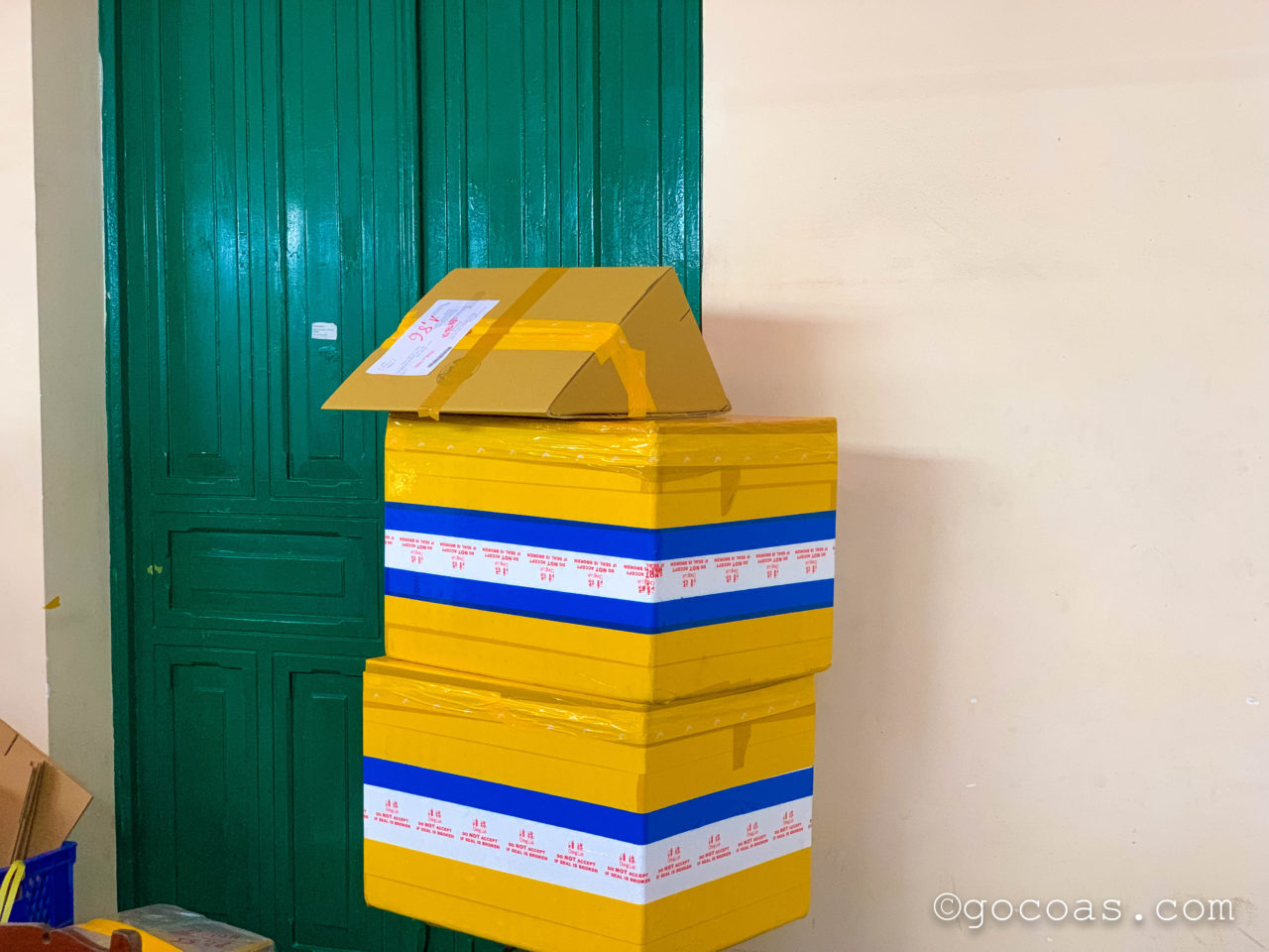 ホーチミン郵便局梱包完成形