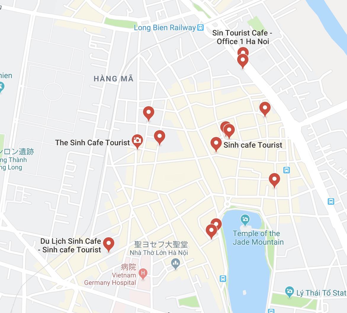 Sinh Tourist Cafe
