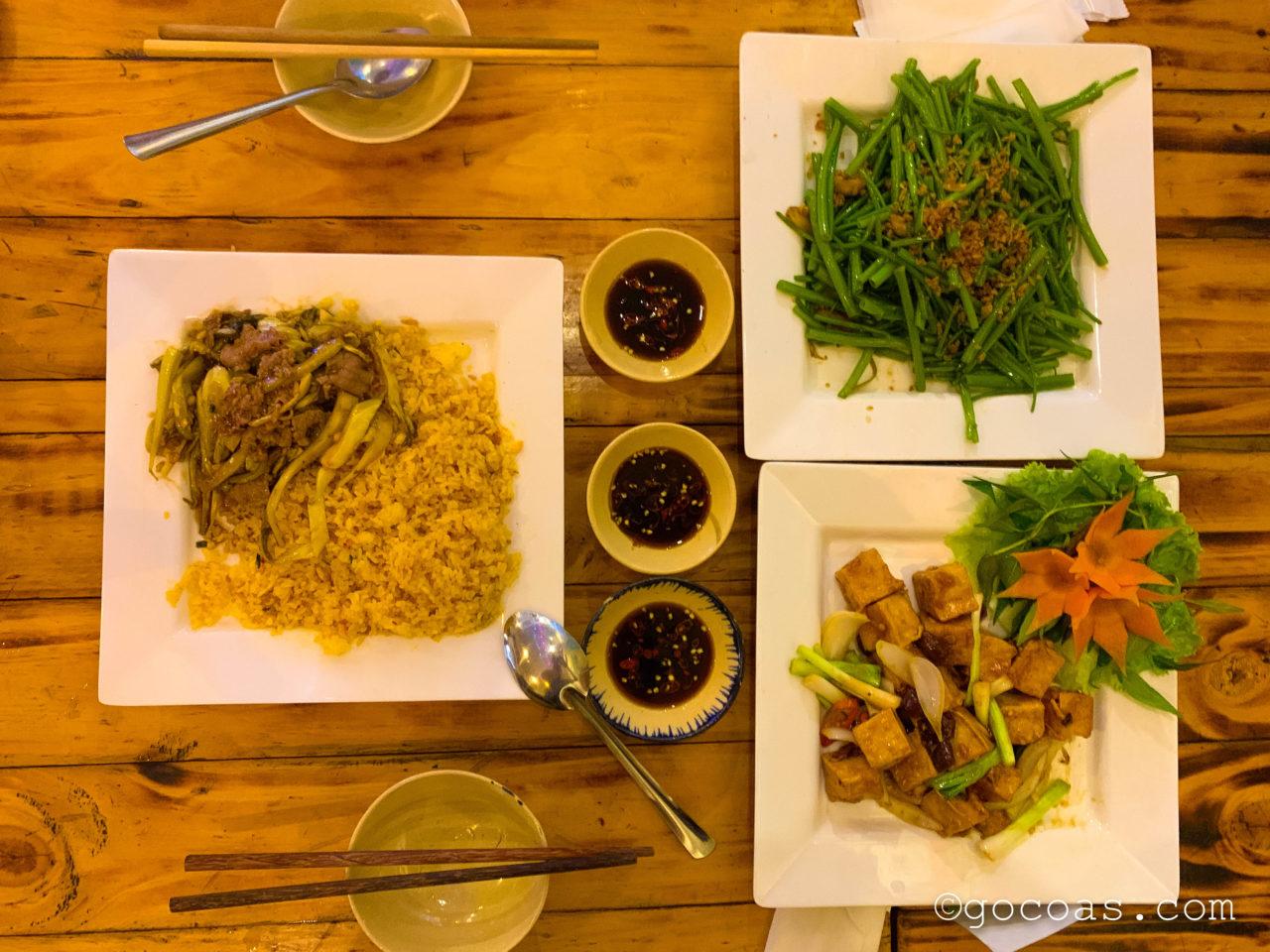 Quan Phui Sai Gonご飯