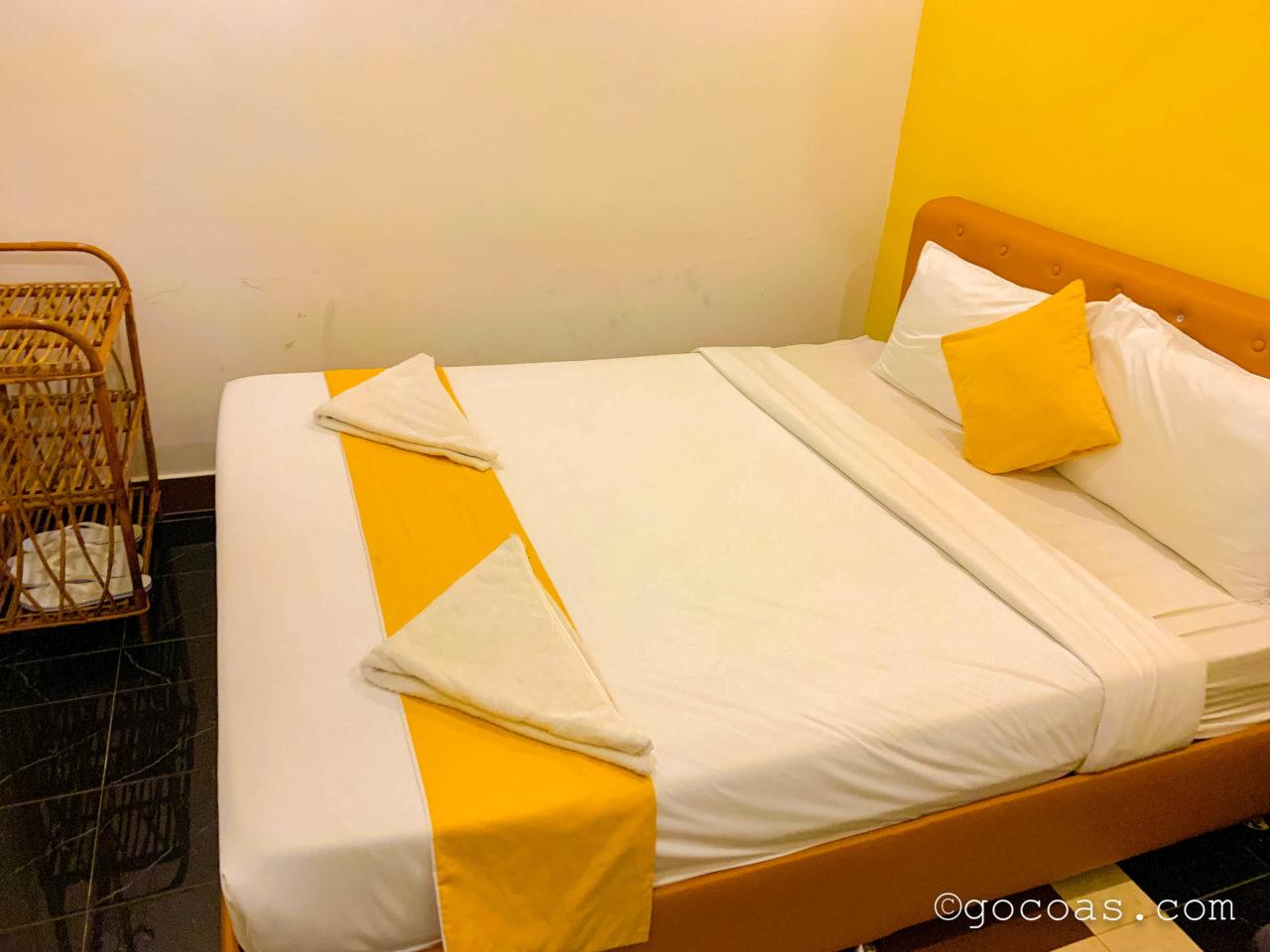 グランドエレベーションホテルのベッド