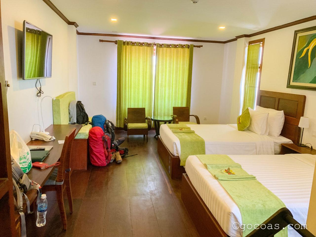 Rei Angkor Hotel&Spa室内