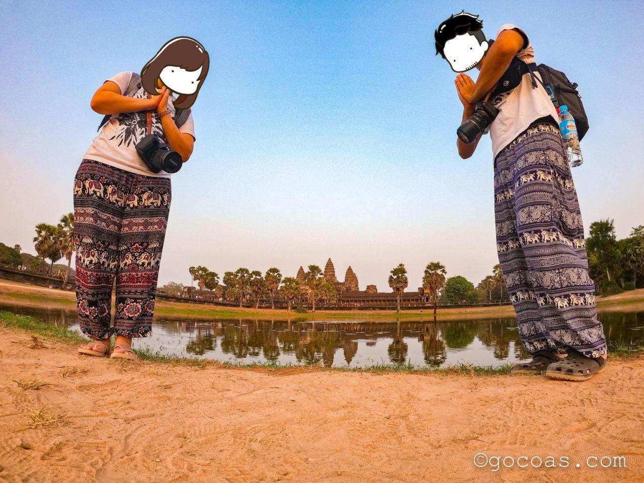 カンボジア遺跡 アンコールトム