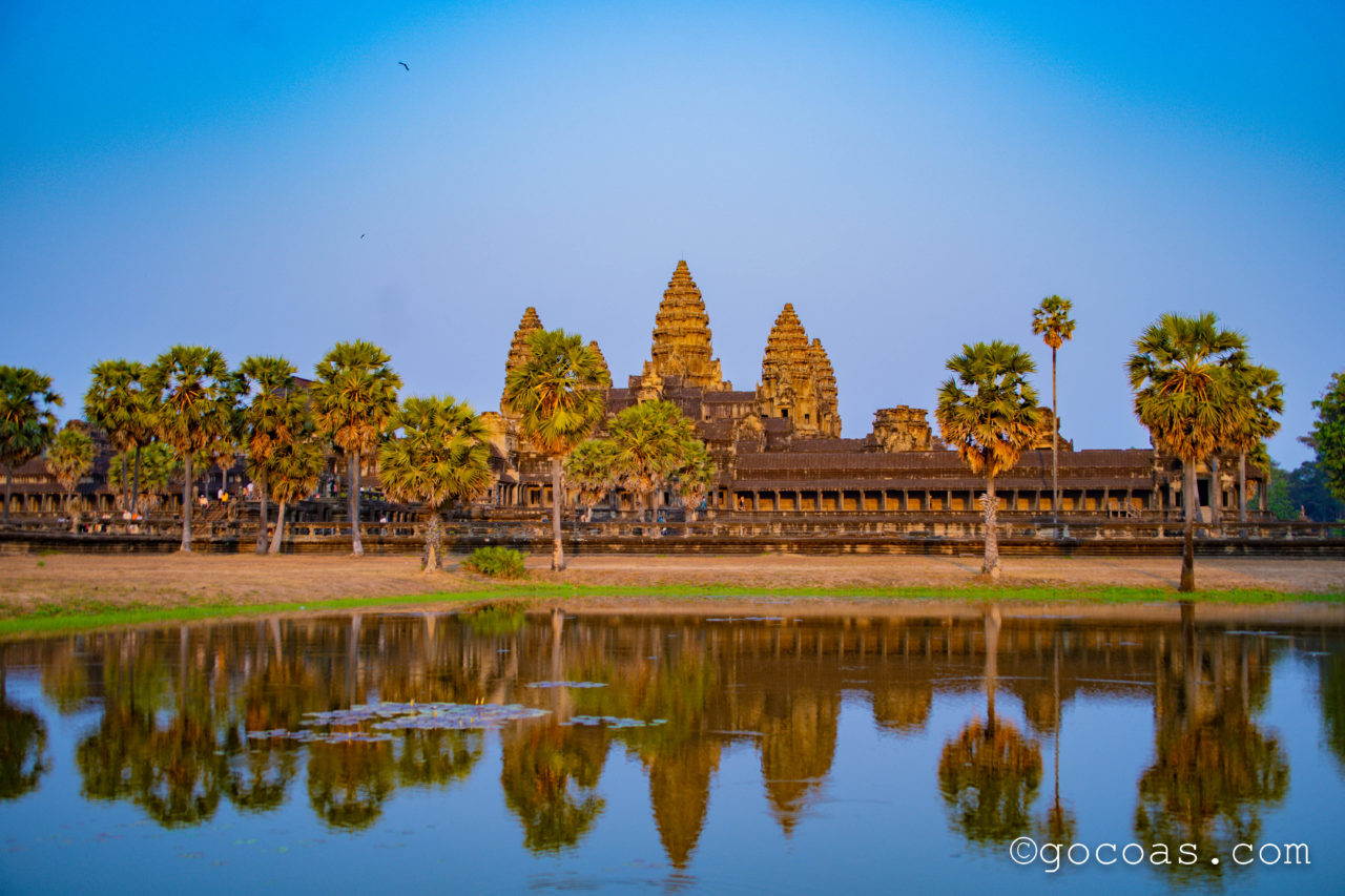 カンボジア遺跡のアンコールワット