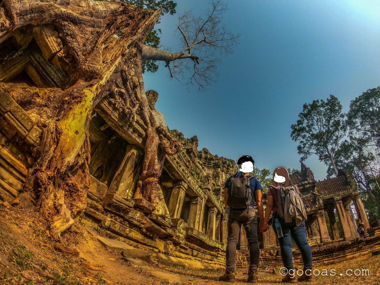 カンボジア遺跡 プリアカン