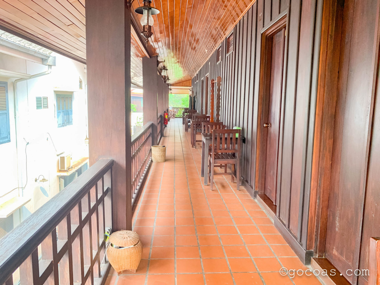 ヴィラ ラタナコンの廊下