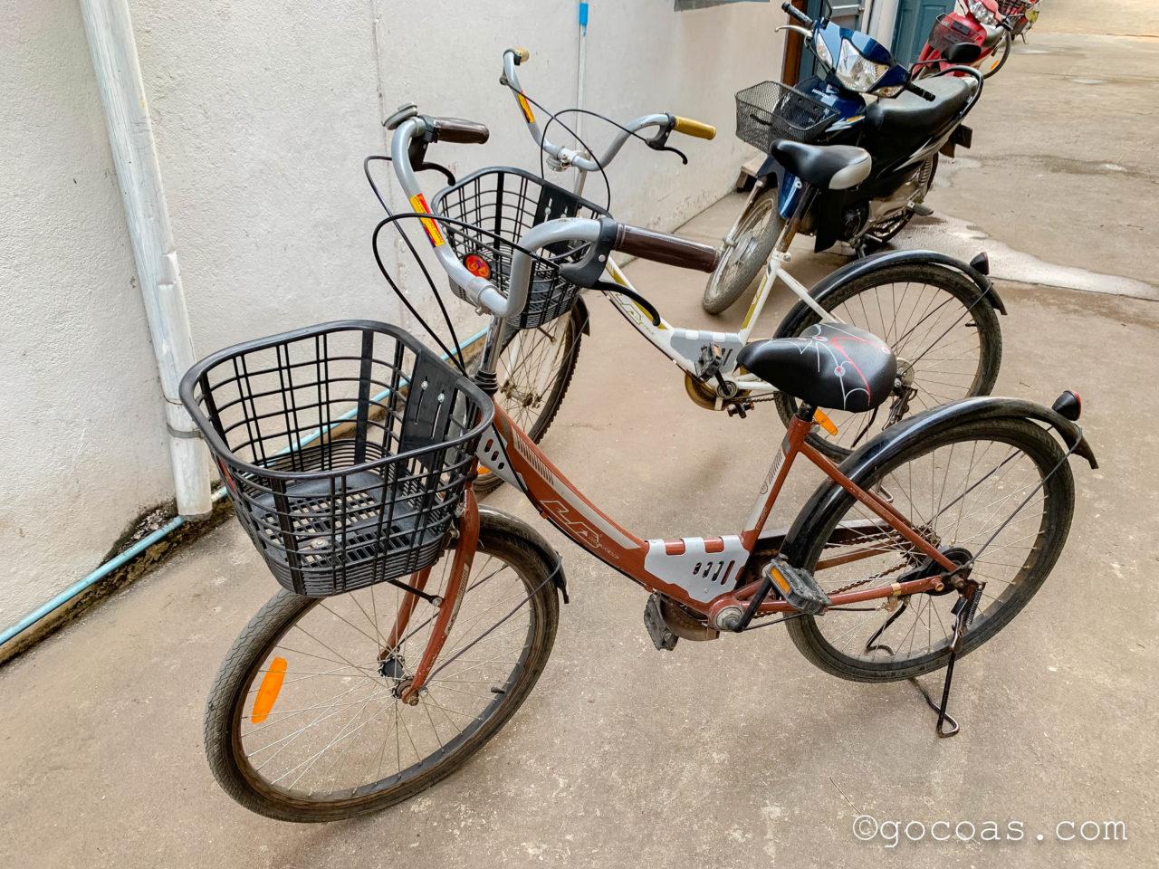 ヴィラ ラタナコンのレンタル自転車