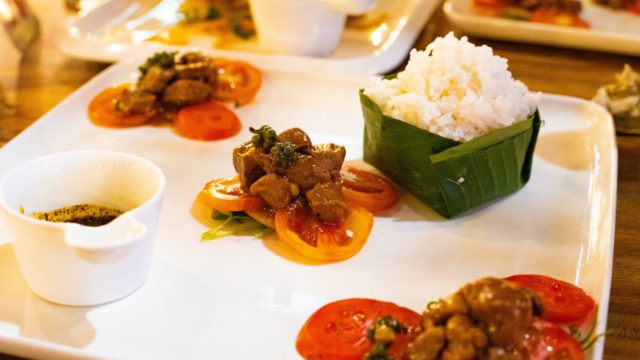 The Chef 1950 n Steakhouse - Siem Reapビーフロックラック