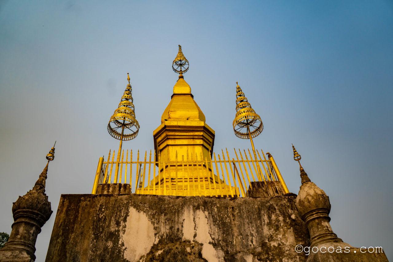 プーシーの丘の頂上にあった寺院