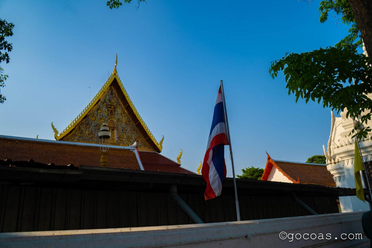 バンコクの街中にあった寺院