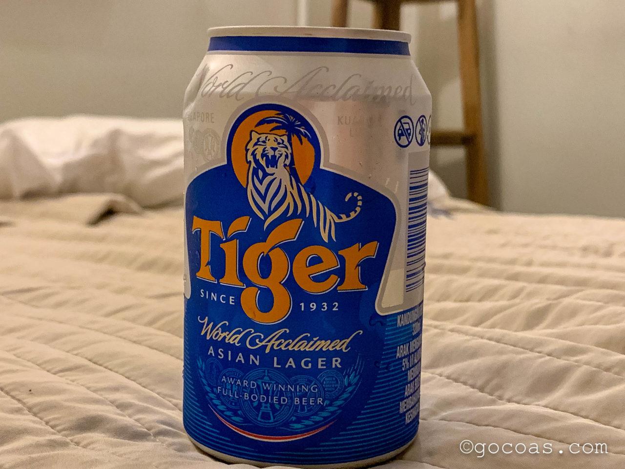 Tigerのビールの缶