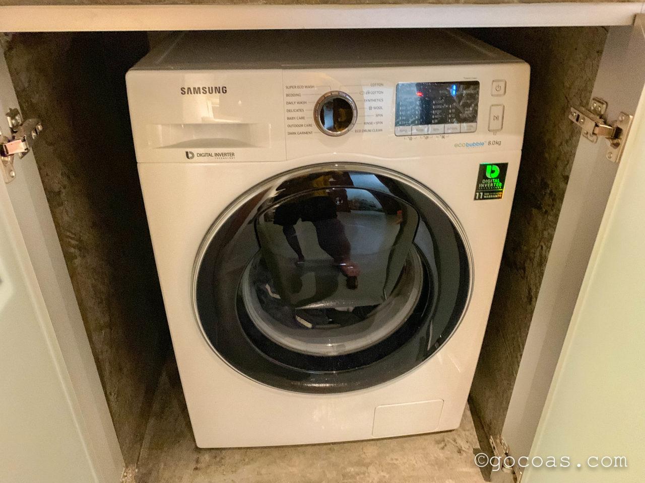 Rainbow Houseのドラム式洗濯機