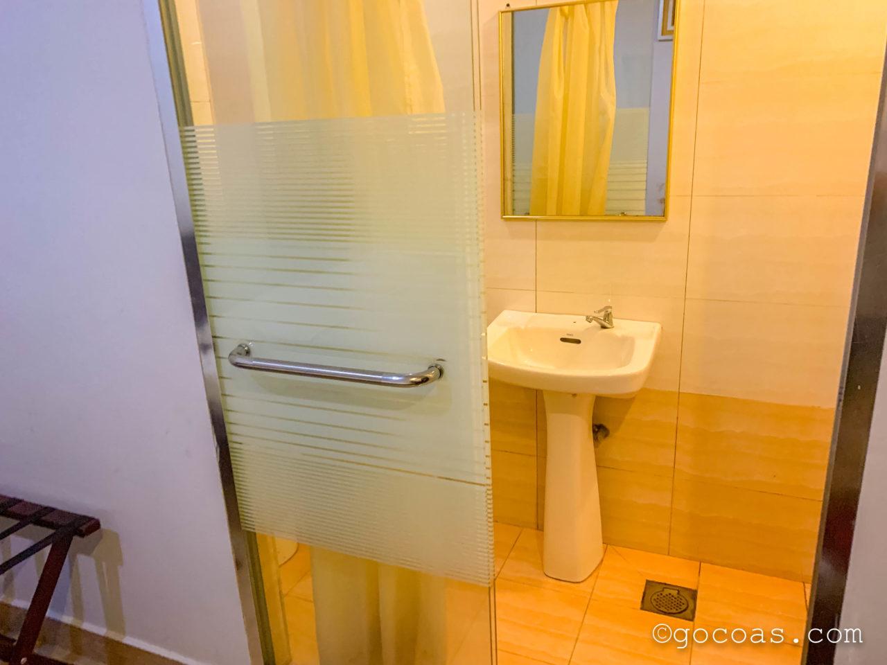 SE Hotelの室内のバスルーム
