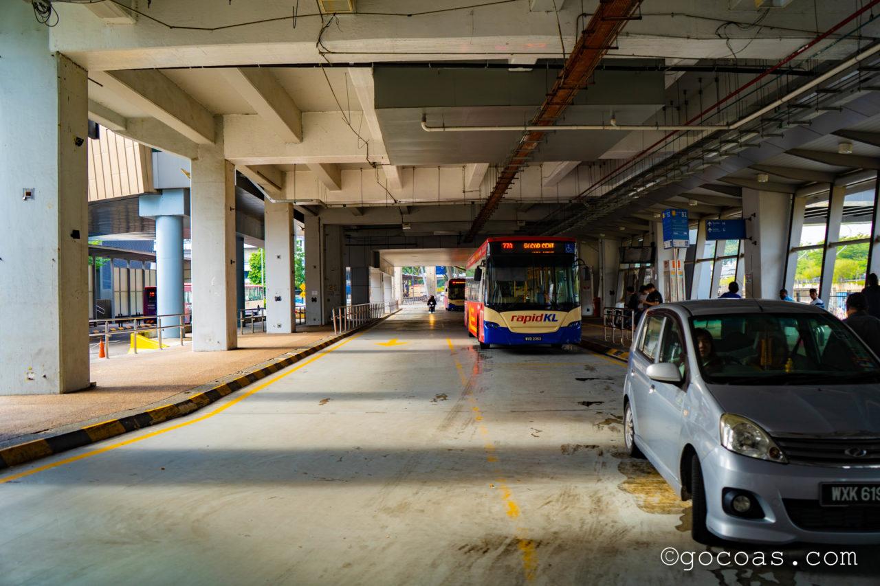 Pasar Seni Bus Hubのバス停