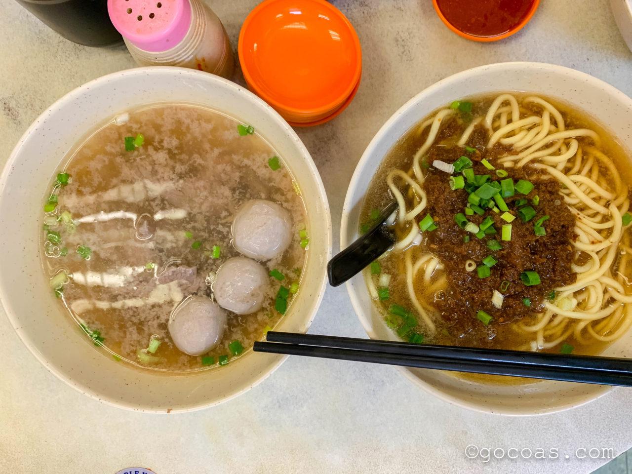 Sin Kiew Yee Shin Kee Beef Noodlesのラーメン