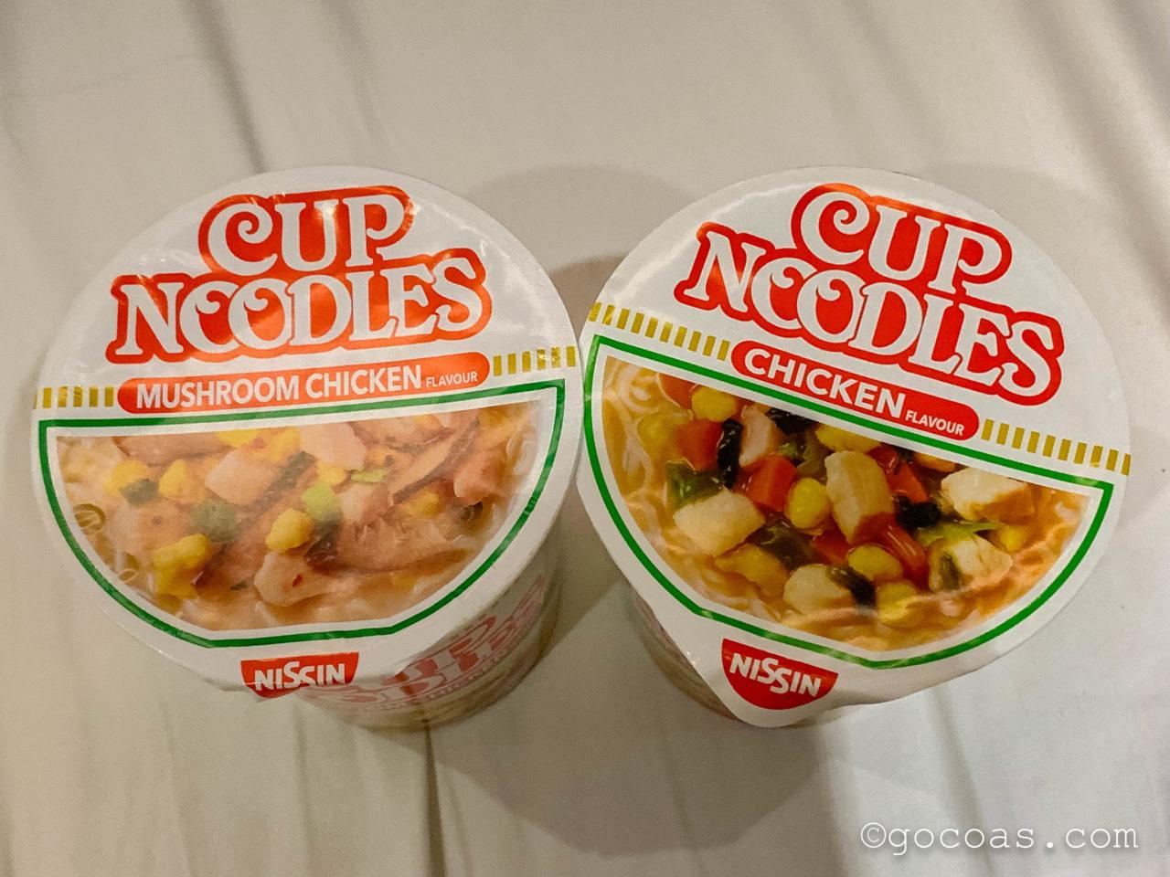Kallang駅のコンビニで買ったカップ麺