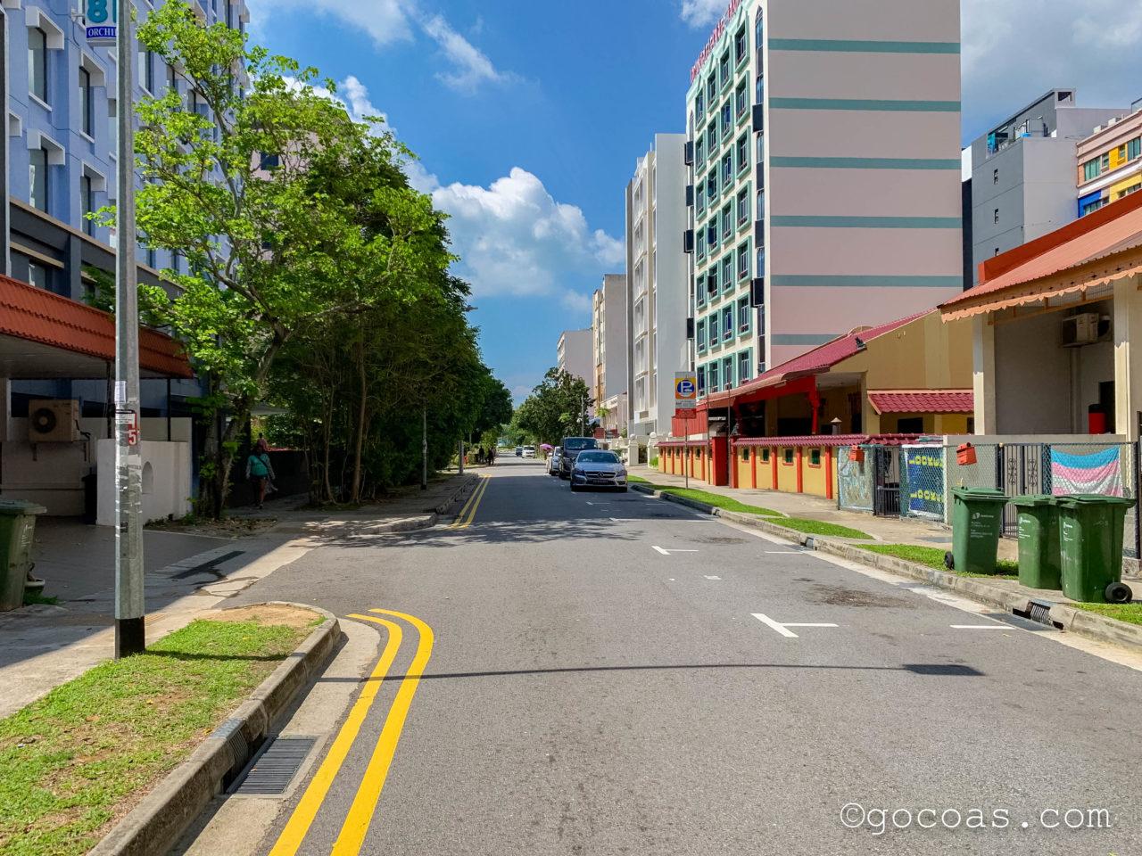 ホテル 81 プレミア ハリウッド前の道路