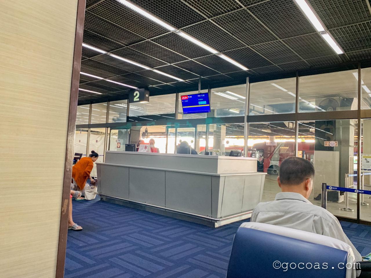 ドンムアン空港の搭乗ゲート